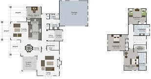 monaco 4 bedroom 2 y house plans landmark homes builders nz