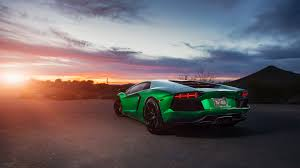 green car wallpaper hd. Interesting Wallpaper Lamborghini Aventador Green 4K On Car Wallpaper Hd P