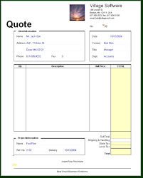 free price quote template inspirational price quote template best sample excellent