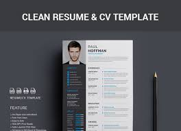 Marvelous Decoration Photoshop Resume Template Free 40 Best 2018s