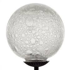 clear bubbles hand blown glass garden solar light bubble hand blown glass