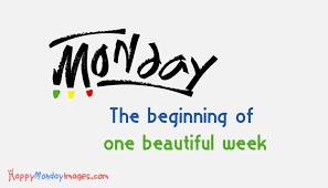 Image result for Beginning of week Monday