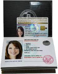 Get License Driver's - International Application