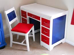 furniture kids desk accessories and art deco wooden study kids desk and chair