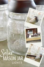 Diy Solar Lights In Mason Jars Diy Solar Lamp Creative Cain Cabin
