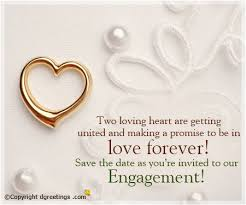 Format Of Engagement Invitation