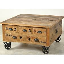 Trunk Style Coffee Table Coffee Tables Dazzling Leather Trunk Coffee Table  Solid Wood