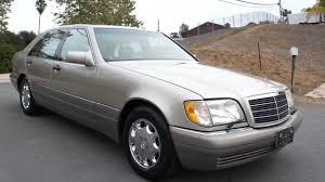 1995 Mercedes Benz W140 S420 S600 S500 V8 4.2L Saloon 1 Owner ...