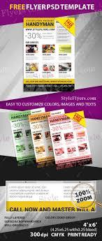 free handyman flyer template handyman free psd flyer template free download 12380 styleflyers