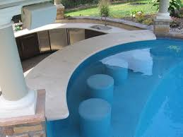 pool house bar. Pool, Pool House And Swim Up Bar Contemporary-patio