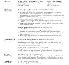 social workers resumes surprising examples of social work resumes resume template