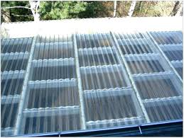 installing corrugated plastic roofing clear home depot and siding