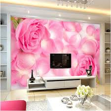 hd wallpapers office. 3D Wallpaper Home Decor Photo Background HD Drops Rose Petals Art Hotel Living Room Office Large Hd Wallpapers