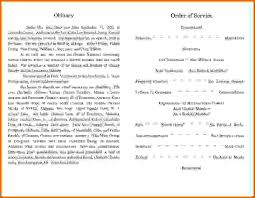 sample of obituary 6 sample obituary templatesreference letters words reference