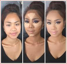 makeup foundation contouring highlighting