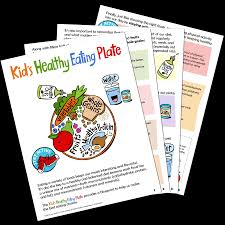 kid s healthy eating plate the nutrition source harvard t h  kid s healthy eating plate printer friendly pdf