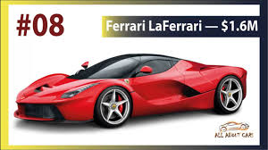 new car 2016 usa10 MOST EXPENSIVE CARS IN THE WORLD 2016 new cars 2017 usa  YouTube