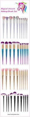 unicorn makeup brushes uses. \ unicorn makeup brushes uses t