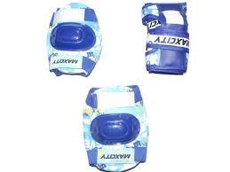 Купить <b>защиту роликовую MaxCity</b> Teddy р. М, синяя по цене от ...