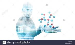 Science Themed Backgrounds Medical Science Themed Background As A Concept Stock Photo