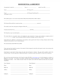 Simple Rental Lease Agreement Template Blank Lease Agreement Template Washington State