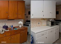 kitchen cabinets painted white before and afterNice Painted Kitchen Cabinets Before And After After Painting
