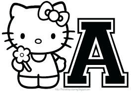 Hello Kitty Birthday Cake Coloring Pages Halloween Printables ...