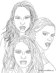 12 Vampire Coloring Pages Printable Print Color Craft Girl