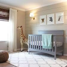 april the giraffe stuffed animal in nursery