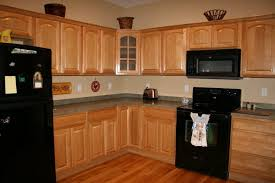 kitchen staining cabinets darker graceful brown varnished mahogany cabinetry wall storageknobknob handle pulls black gloss granite