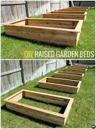 diy cedar wood raised garden bed 20 diy