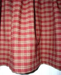 red and tan gingham curtains red and tan kitchen curtains red and tan buffalo check curtains