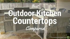 outdoor kitchen with granite countertops bbq appliances bar stools and stone floor