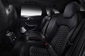 Audi RS Alcantara and leather diamond quilted seat - | EuroCar News & Audi RS Alcantara and leather diamond quilted seat Adamdwight.com