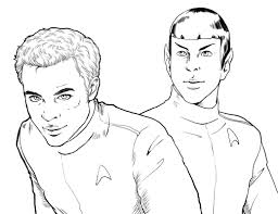 Small Picture Star Trek Coloring Pages Gekimoe 105636