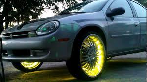 Dodge neon on 22' - YouTube