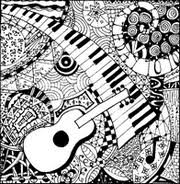 Small Picture Adult Coloring Pages Music