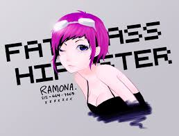 ramona flowers c bryan lee o malley quick picture to test out my new intuos5 tablet