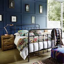 industrial bedroom furniture. Industrial Bedroom Furniture, Black Metal Gaslight Bed Furniture