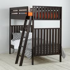 Bunk Bed Cargo Natural Twin Bunk Bed The Land Of Nod