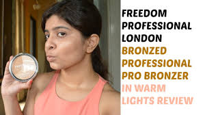 freedom professional london bronzed professional pro bronzer in warm lights review you