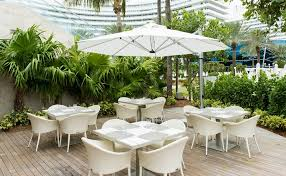 cantilever patio eclipse cantilever square umbrella commercial patio umbrellas