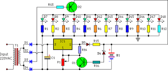 circuit diagram of automatic low power emergency light images circuit true bypass looper pedal wiring led light circuit diagram