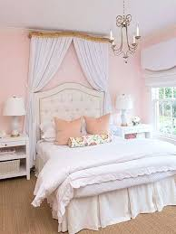 Pink Tufted Bed Framed White Tufted Headboard Pink Tufted Bedroom ...