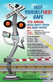 metra launches th annual safety contest metra printable versions of the contest poster are available in