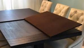 charming felt table protector 9 dining room cover pad furniture pads dinner custom tables cut to fit bergers