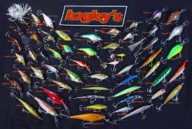 Identify Lures Of The Bagley Bait Co The Colors Of Bagleys