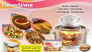 Flavorwave Turbo Oven Is A Perfect Way To Cook Your