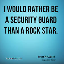Security Quotes Delectable Bruce McCulloch Quotes QuoteHD