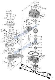 Group johnson evinrude partsphp year 1966hp 80model v4sl 18manufacturer johnsonsection mag o and distributor group force outboard engine diagram